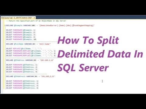 How To Split Delimited Data In SQL Server
