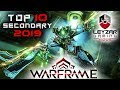 Warframe Top 10 Secondary Weapons 2019