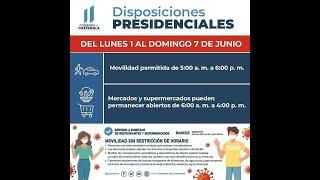 Revisamos nuevos horarios de restricciones en Guatemala