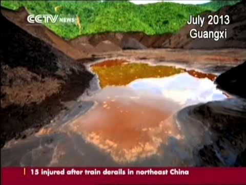 Severe water pollution cases from China's past 5 years