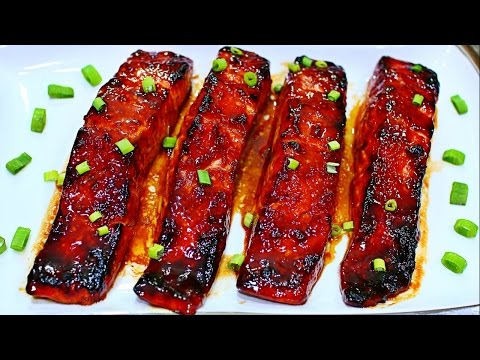 Teriyaki Glazed Salmon Recipe - Easy and Delicious Salmon Recipe