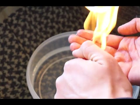 How to (safely) set your HAND on FIRE!! by AcePreps