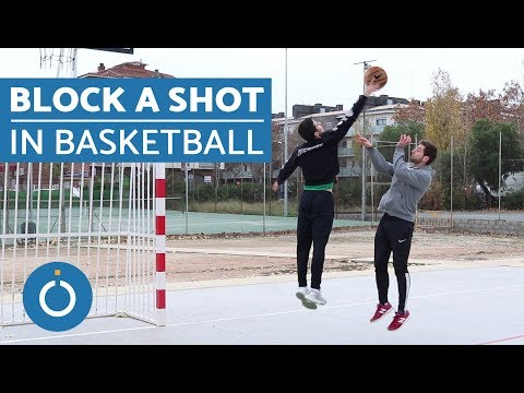 How to Block a Shot in Basketball