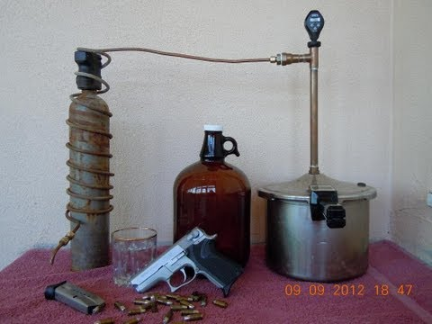 Running the legal Pot Still: Home made