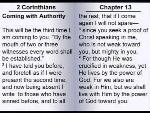The Second Letter to the Corinthians 13