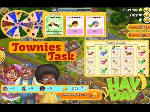 Hay Day - Townies Derby Task
