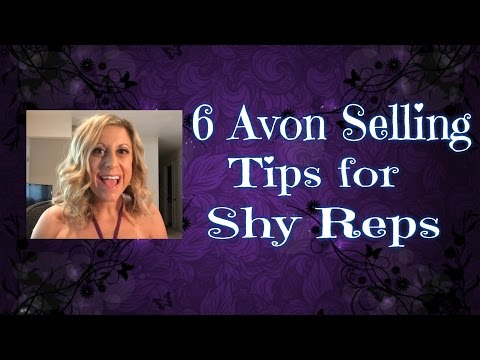 6 Avon Selling Tips for Shy Representatives