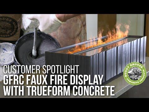 Creating the Clodagh Design Aquafire Table with Trueform Concrete