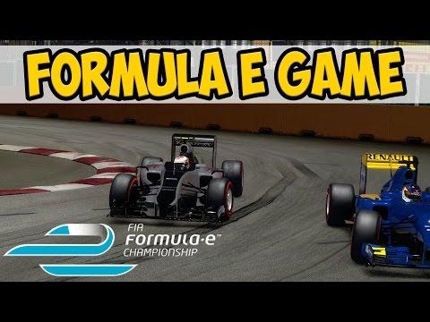 Formula E Game Mod: D'Ambrosio at Singapore (F1 2014 Game)