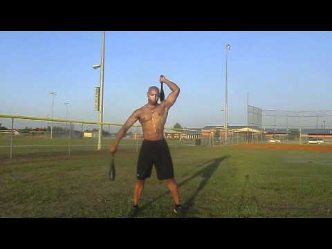 Indian Club Workout Demo