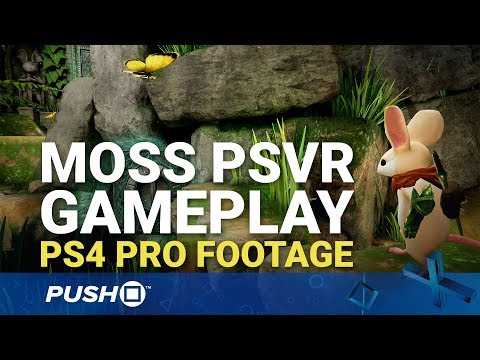 Moss (PSVR) PS4 Pro Gameplay Footage: First 30 Minutes | PlayStation VR