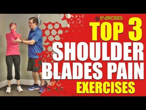 Top 3 Shoulder Blades Pain Exercises