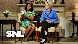Michelle Obama and Hillary Clinton Cold Open - Saturday Night Live