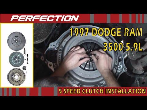 Dodge Ram 1997 5.9L NV4500 5 Speed Clutch Installation