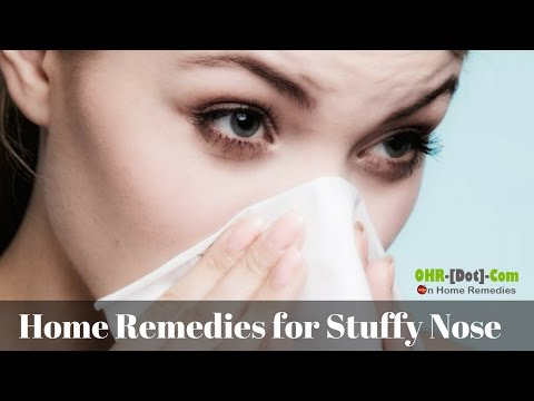 How to Get Rid of a Stuffy Nose: Causes, 8 Home Remedies & Cures