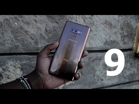 Samsung Galaxy Note 9 Review! Metallic Copper!