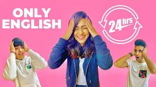SPEAKING ONLY ENGLISH for 24 Hours Challenge   Rimorav Vlogs