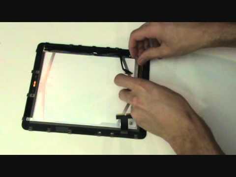 iPad 1 Screen Replacement Tutorial LCD Glass Digitizer Repair | GadgetMenders.com