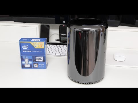 Late 2013 Mac Pro 10 Core CPU upgrade with benchmarks [4K]