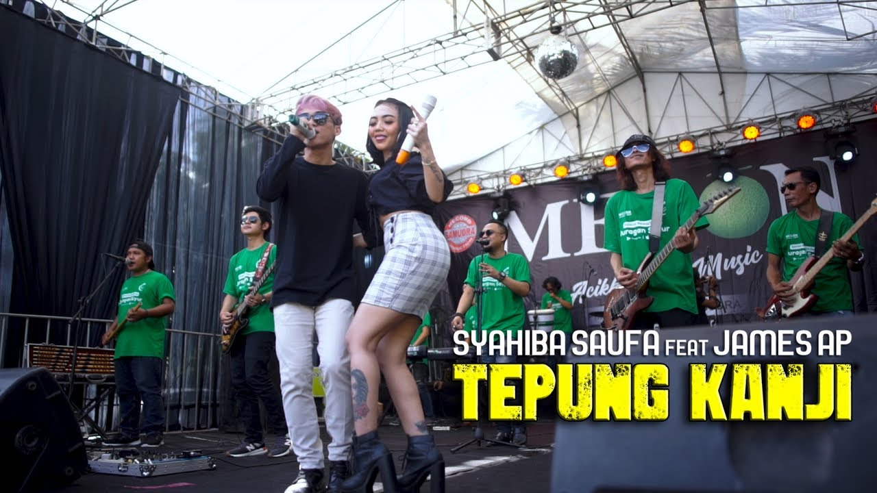 AKU RA MUNDUR (TEPUNG KANJI) | Versi Koplo - Syahiba Saufa Ft. James AP (Official LIVE)