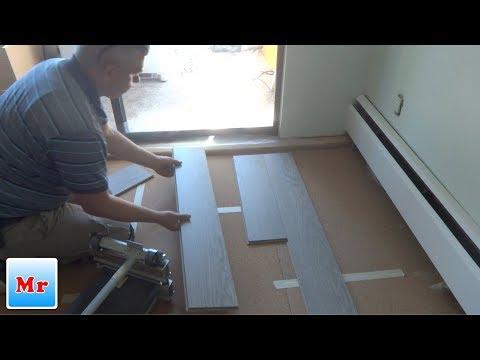 How to Start Laminate Flooring Installation -Tips from Mryoucandoityourself