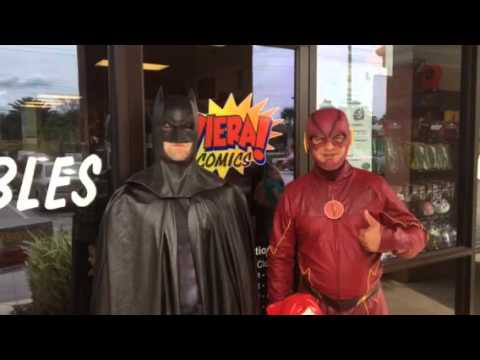 With Batman & The Flash