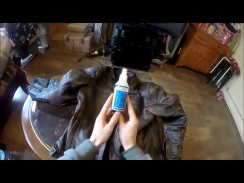 HOW TO CLEAN PROPERLY FAST YOUR LEATHER JACKET