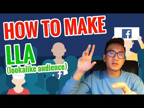 🤷 How To Make Facebook LLA ( Look A Like Audience)  🤷 - Detailed guide