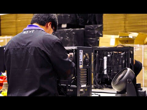 How NZXT Computers are built