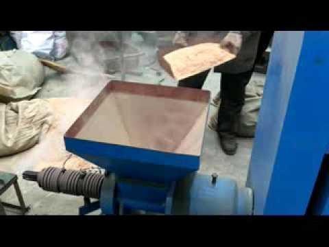 coconut shell sawdust rice husk briquette charcoal making machine