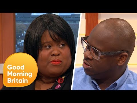 Do White People Need Instructions on How to Talk About Race in the Workplace?   Good Morning Britain