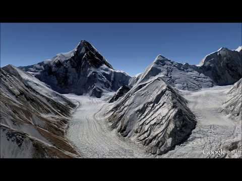 Views of K2 and environs - Fly-Through Tour in Google Earth