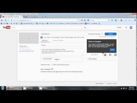 How to get Dofollow backlink from Youtube in Just 2 minute