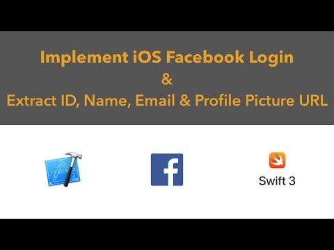 Swift 3 Integrate Facebook Login In Your iOS app And Get User ID, Name, Email & Profile Photo URL