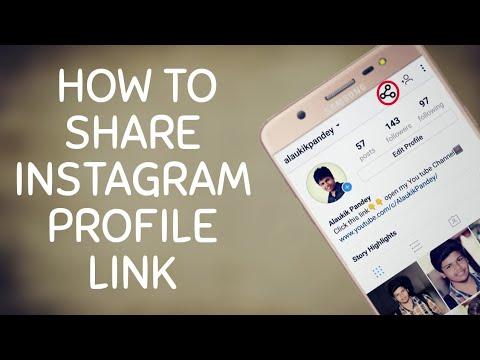 How To Find Your Instagram link ?/ Instagram का लिंक कैसे Share करे ?/Alaukik Pandey