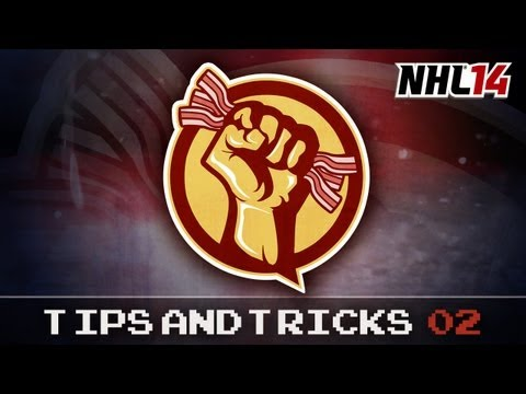 NHL 14 Tips - HOW TO PLAY GOALIE