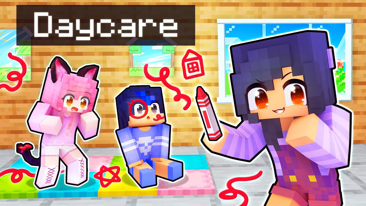 Evil APHMAU Goes To DAYCARE In Minecraft!