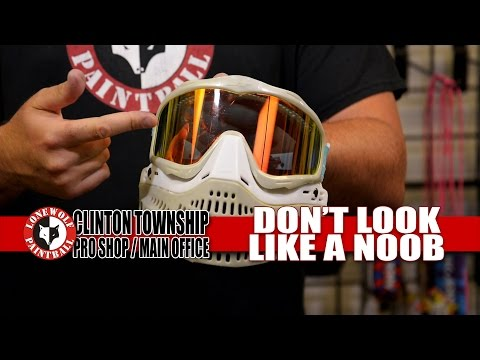 How to NOT look like a NOOB playing Paintball (Speedball) | Lone Wolf Paintball Michigan