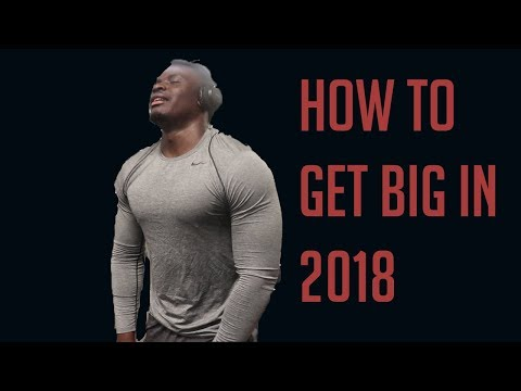 TOP 5 Exercises to get a WIDE BACK in 2018!