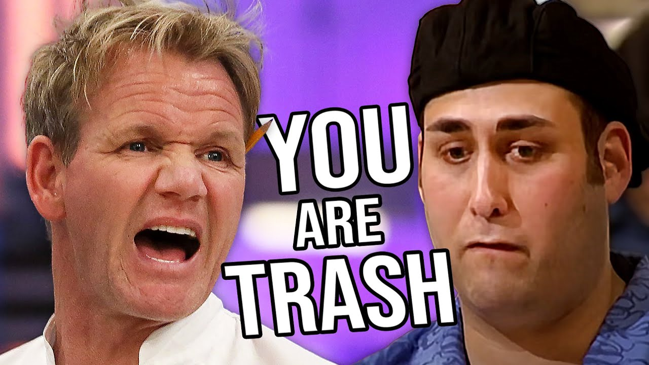 Gordon Ramsay Crushes The Dreams Of Terrible Cooks