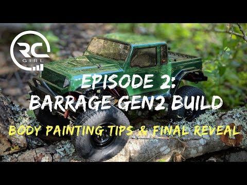 ECX BARRAGE GEN2 KIT BUILD |  Ep. 2 - Body Painting Tips & Final Reveal
