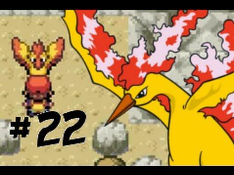Let's Play Pokémon Leaf Green Part 22 : Moltres