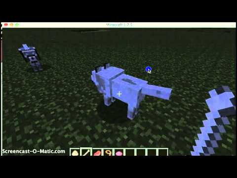 How To Spawn, Breed And Tame Wolves On Minecraft