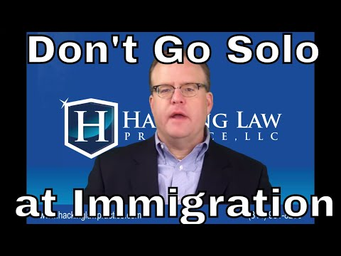 St. Louis Immigration Attorney explains why going solo at immigration is almost always a bad idea