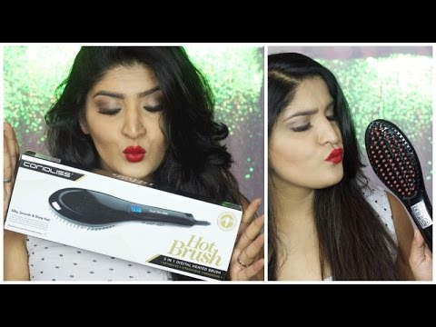 Trying Out Hotbrush: Does This Thing Really Work? Every day smooth hair | Diwalog Day 18