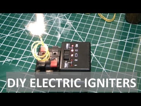 DIY Electric Igniters for Rocket Engines & Pyrotechnics - ELEMENTALMAKER