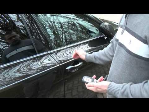 Audi Keyless Go and Keyless Entry - A7 4G, A6 4G, A4 8K, A5 8T