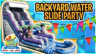 Inflatable Water Slide Rental 29072 | Party Rentals Columbia SC and Lexington