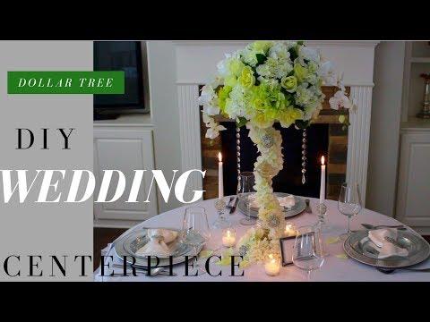 DIY WEDDING DECORATIONS | DOLLAR TREE WEDDING DECORATIONS feat. TOTALLY DAZZLED