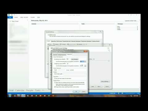 How to manually add an email account to Outlook 2013